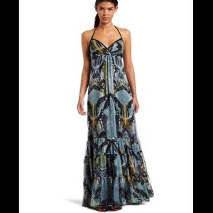 Jessica Simpson Butterfly Halter dress (small)